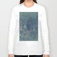 vintage floral Long Sleeve T-shirts featuring Vintage floral by nicky2342