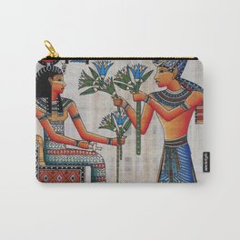 Isis On Papyrus Carry-All Pouch