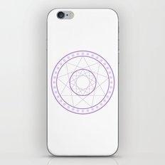 Anime Magic Circle 8 iPhone & iPod Skin