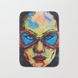 The Glasses Bath Mat