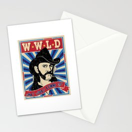 WWLD What Whould Lemmy Do? Stationery Cards
