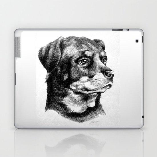 Rottweiler Devotion Laptop & iPad Skin