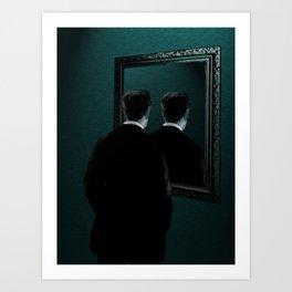 Into the mirror  Art Print