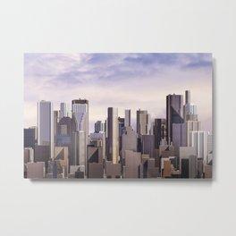 Day city panorama Metal Print