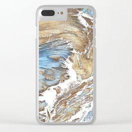 Woody Silver Clear iPhone Case