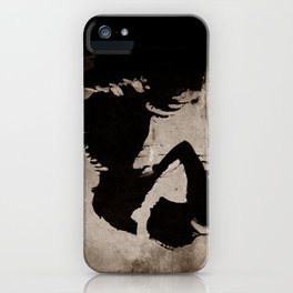 The kiss of the mermaid iPhone Case