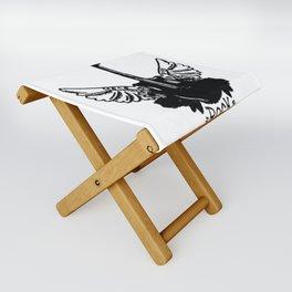 Rock guitar , custom gift design Folding Stool