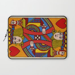 King of Hearts Laptop Sleeve