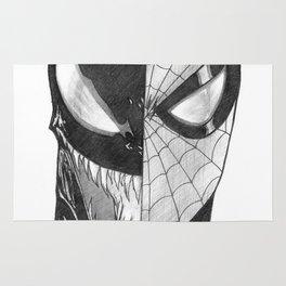 Spidey / Venom Portrait Rug