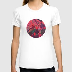 untitled SMALL Womens Fitted Tee White
