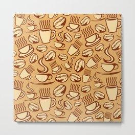 coffee background Metal Print