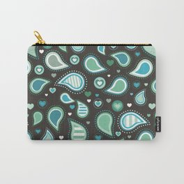 Pasley Turquoise Carry-All Pouch