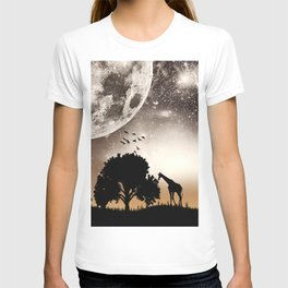 Nature silhouettes T-shirt