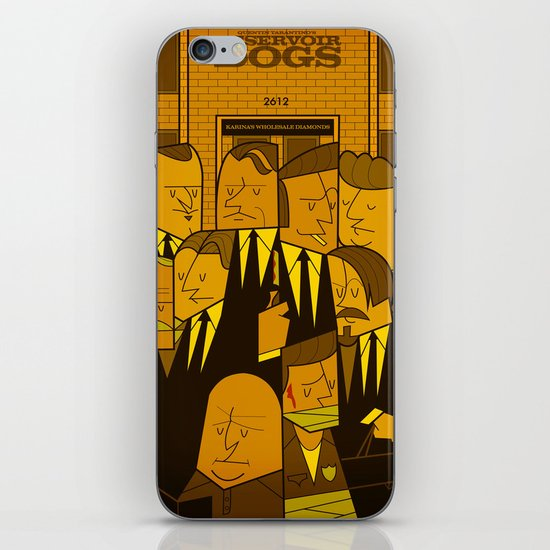 Reservoir Dogs iPhone & iPod Skin