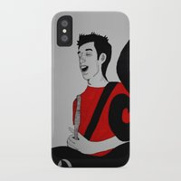 charlie iPhone & iPod Cases featuring Charlie by Feral Doe