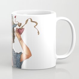 Witch with Tea Coffee Mug