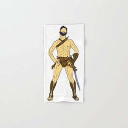 Gladiator Warrior 2 Hand & Bath Towel