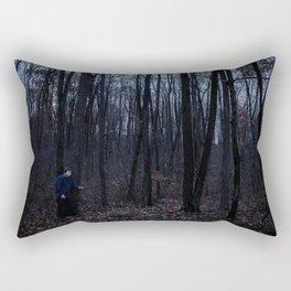 Dark Woods 2 Rectangular Pillow