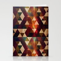 polygon Stationery Cards featuring Polygon by Tony Vazquez