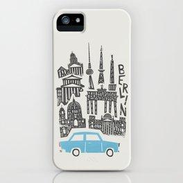 Berlin Cityscape iPhone Case