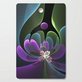 Decorative Flower Fractal, Floral Fantasy Cutting Board