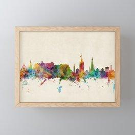 Edinburgh Scotland Skyline Framed Mini Art Print
