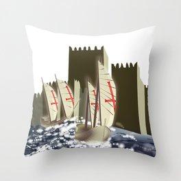 Ó gente da minha terra Throw Pillow