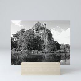 Temple de la Sibylle Mini Art Print