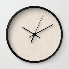 Chardon Quarter Spanish White Wall Clock