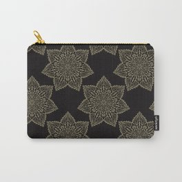 Intricate Star Arabesque Mandalas Carry-All Pouch