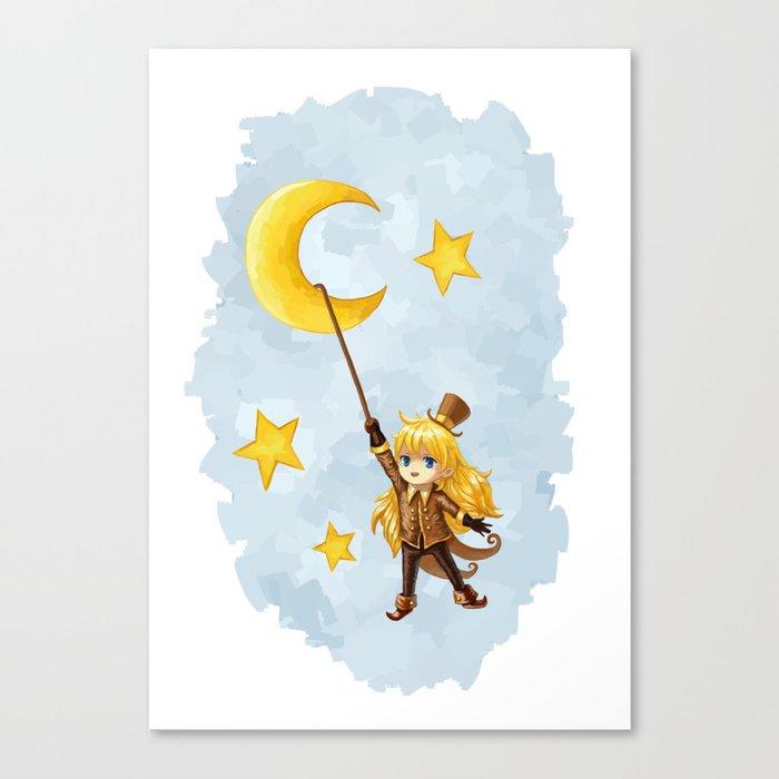 Magician Canvas Print