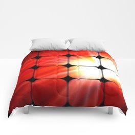 Windows as the sun. Comforters