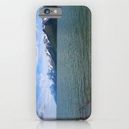 Jackson Lake Impression iPhone Case