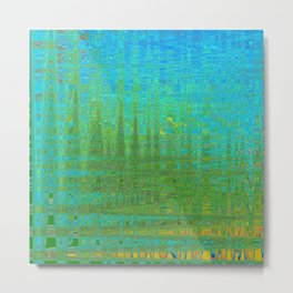 DEEP IN THE SWAMP FORREST OR ORION THREE Metal Print