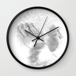 ZEN PLACES (left side) Wall Clock