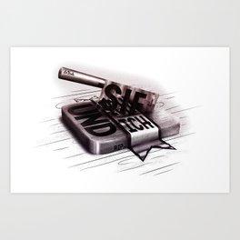 LaFinale Art Print