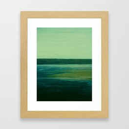 Landscape ~ Sea Framed Art Print