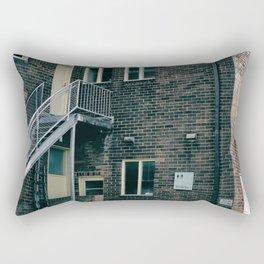 Brick Building Toilets Rectangular Pillow