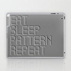 Eat Sleep Pattern Repeat Laptop & iPad Skin