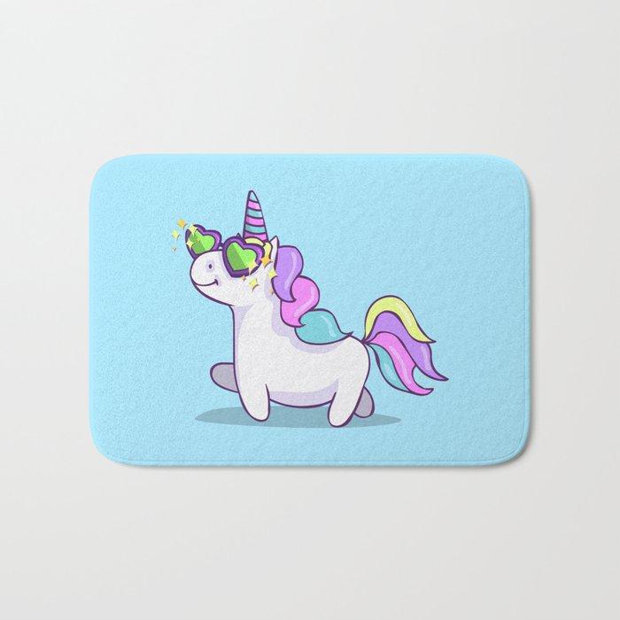Fabulous Unicorn Bath Mat