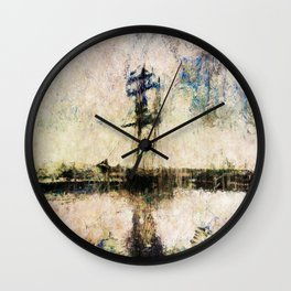 A Gallant Ship Wall Clock