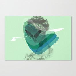 Corazón alcanzado Canvas Print