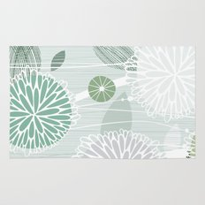 Abstract Floral by Friztin Rug