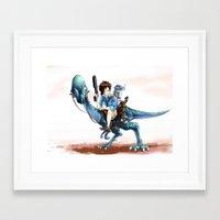 laputa Framed Art Prints featuring Laputa by CSKok