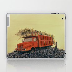 sugar cane and truck on fire Laptop & iPad Skin