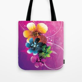 Floral Mystique Tote Bag