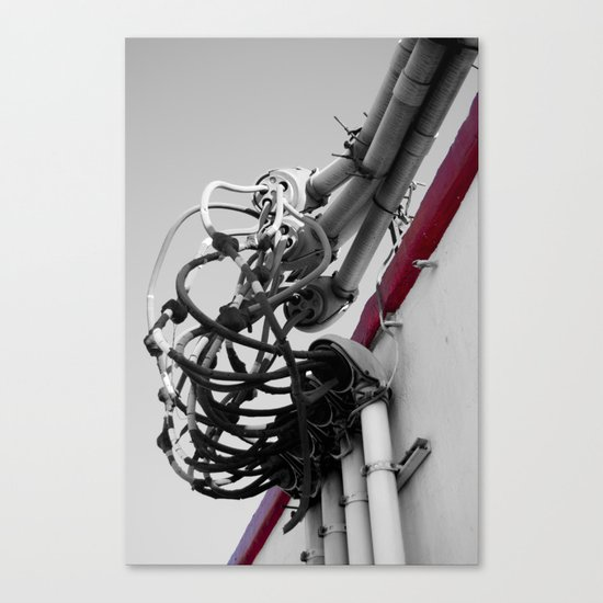 We've got our Wires Crossed Canvas Print
