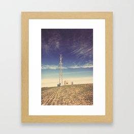 Arial ∆ Framed Art Print