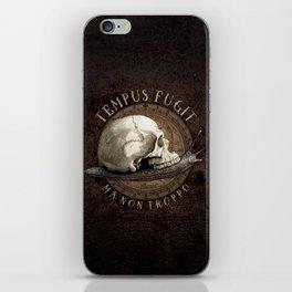 Tempus Fugit (ma non troppo) iPhone Skin