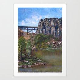 SOB Bridge Art Print